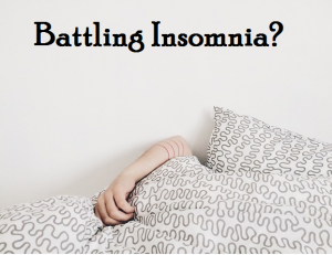 battling insomnia