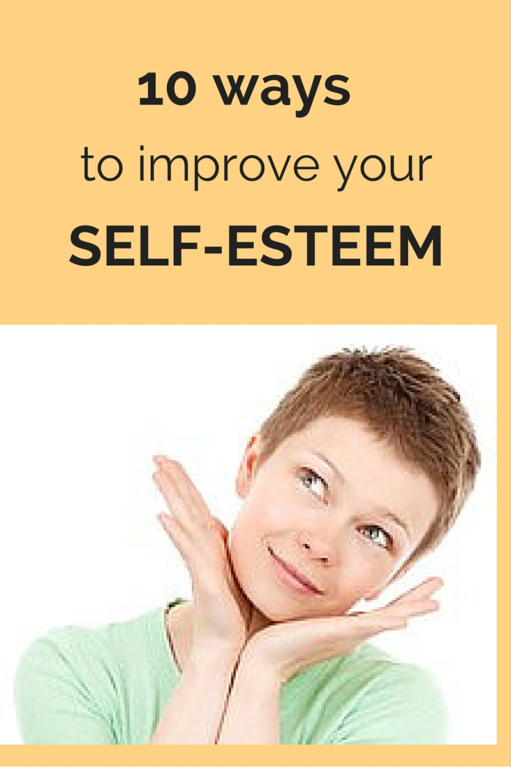 Learn how to build self-esteem