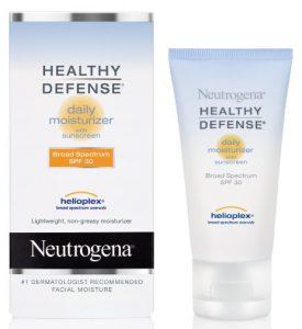 Neutrogena moisturizer