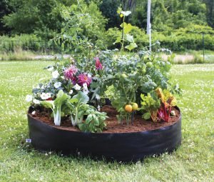 big bag fabric raised bed