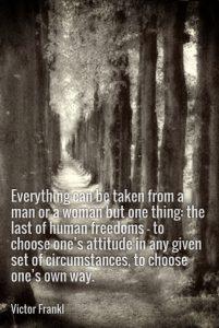 Victor Franckl quote