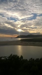 Sedgefield sunset