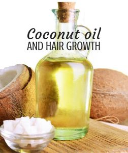 coconut oil and hair growth