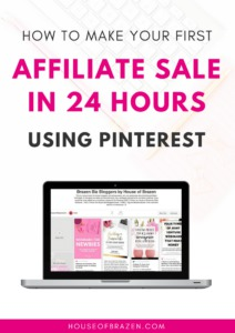affiliate sale ebook