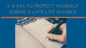 late-life divorce