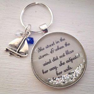 inspirational keychain
