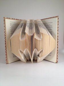 Batman logo folded art book