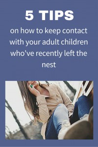 keep contact with adult children
