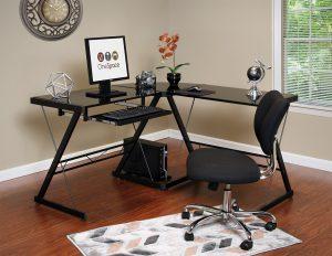 One Space corner desk