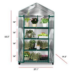 plant greenhouse on wheels
