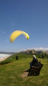 paragliding in Wilderness